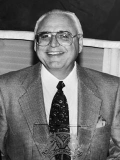 Portrait of Roy Burns two decades ago.
